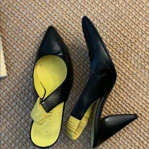 Prada sling back heels!